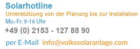 Solarthermie Beratung unter Tel.: +49(0)2153/1278890 oder +49(0)1512/3521242